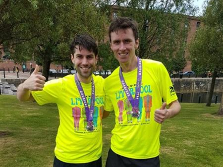 Marathon Heroes Running for WCL
